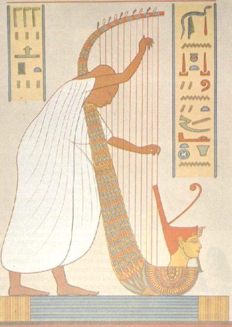 Le corde dell'arpa