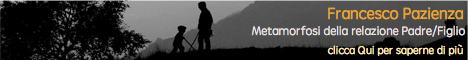 Metamorfosi della relazione padre-figlio - Banner