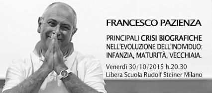 Francesco Pazienza - Incontro Libera Scuola Rudolf Steiner