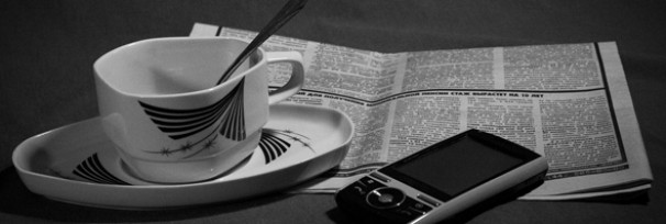 Colazione e giornale