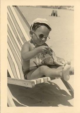 Francesco Pazienza durante l'infanzia